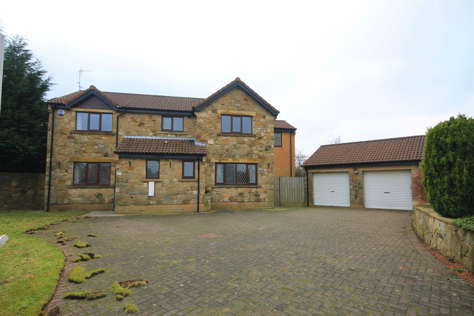 4 Bedrooms Detached House for sale in Beech Court, Langley Park, Durham
